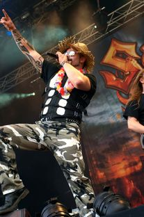 Sabaton live beim Rock in Concert Open Air 2011
