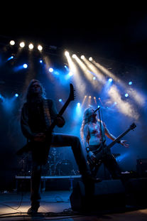 Moonsorrow locken die Metalheads unter den WGTlern an