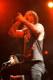 As I Lay Dying live beim Metal Invasion 2011