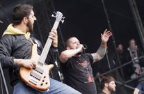 The Black Dahlia Murder beim With Full Force 2011